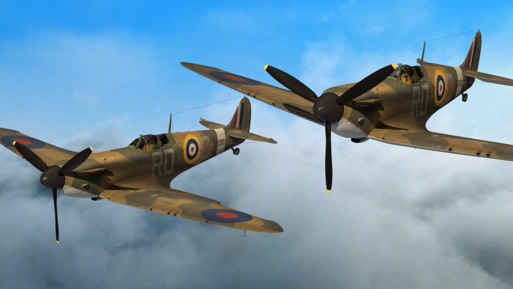 Spitfire Flyby