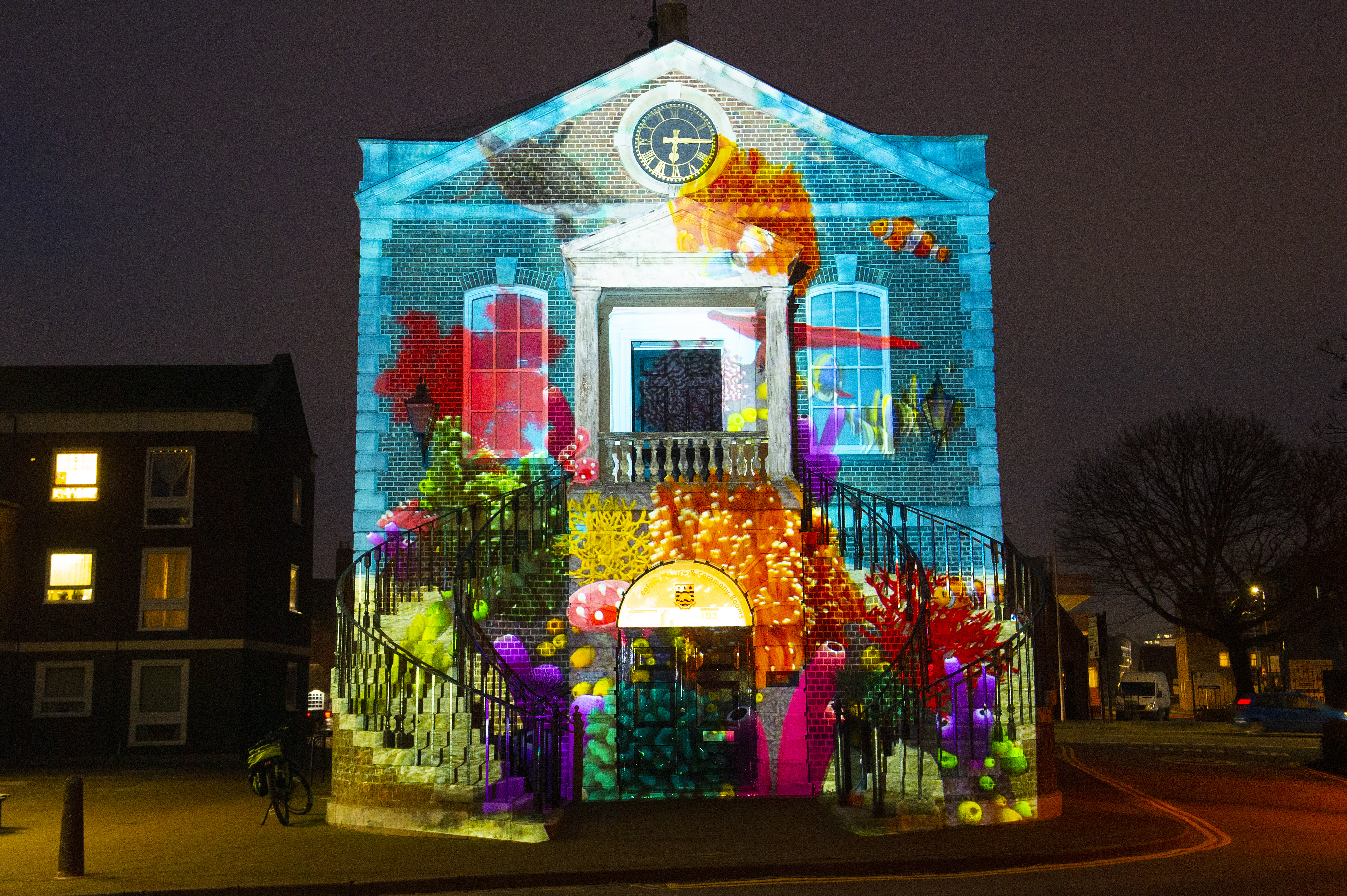 Light Up Poole - Digital Light Art Festival 
